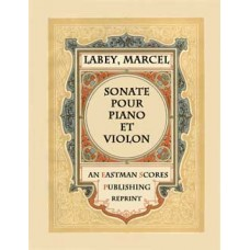 Labey, Marcel : Sonate pour piano et violon