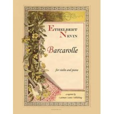 Nevin, Ethelbert : Barcarolle for violin with piano accompaniment
