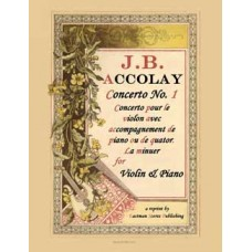 Accolay, J.B. : Concerto No. 1