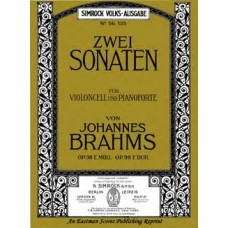 Brahms, Johannes : Sonata No. 1 E minor