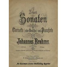 Brahms, Johannes : Sonata for Clarinet Op. 120