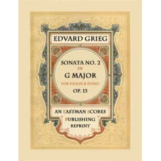 Grieg, Edvard : Sonata No.2 in G Major, Op.13