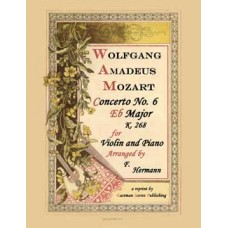 Mozart, Wolfgang Amadeus : Concerto No. 6 in Eb Major, K. 268, Arranged by F. Hermann