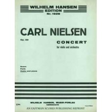 Nielsen, Carl : Concert for violin and orchestra, op. 33 : violin and piano