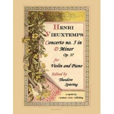 Vieuxtemps, Henri : Concerto No.5 in a minor, Op.37; ed. by Theodore Spiering