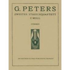 Peters, Guido : String Quartet no. 2, in C major