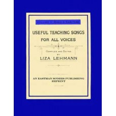 Lehmann, Liza : Useful teaching songs for all voices, Vol. 5, Bass & Baritone