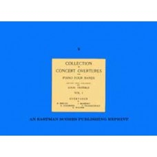 Collection of concert overtures for piano four hands / edited and fingered by Louis Oesterle. Vol. 1