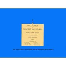 Collection of concert overtures for piano four hands / edited and fingered by Louis Oesterle. Vol. 2
