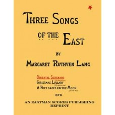 Lang, Margaret Ruthven : Oriental serenade, for medium voice. Op. 8. (Three songs of the East, [no.1]). [With piano accompaniment]