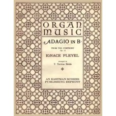Pleyel, Ignaz : Adagio in Bb­ from the Symphony op. 12; arranged by T. Tertius Noble.