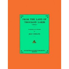 Sibelius, Jean : From the land of thousand lakes : Sibeliana : ten sketches for the pianoforte