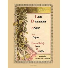 Delibes, Leo : Arioso (Organ) Arranged by James H. Rogers