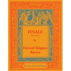 Barnes, Edward Shippen : Finale for organ