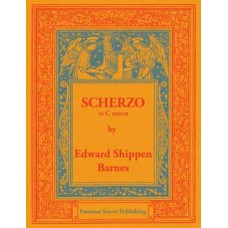 Barnes, Edward Shippen : Scherzo in C minor, for organ, op. 3