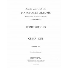 Cui, Cesar : Compositions for pianoforte