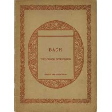 Bach, Johann Sebastien : Fifteen Two Voice Inventions